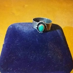 unknown Jewelry - Vintage Sterling Silver/Turquoise Ring